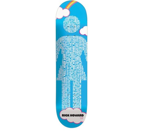 "Girl Skateboard Deck - 7.81"" Howard (Crailtap Mottos)"