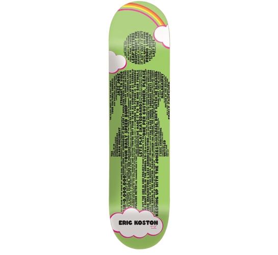 "Girl Skateboard Deck - 8"" Koston (Crailtap Mottos)"