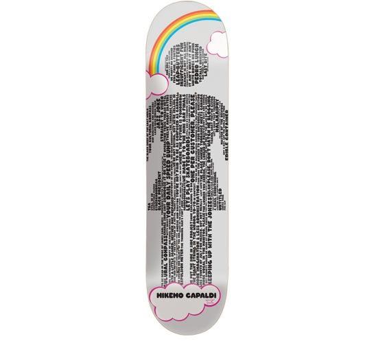 "Girl Skateboard Deck - 8"" Capaldi (Crailtap Mottos)"
