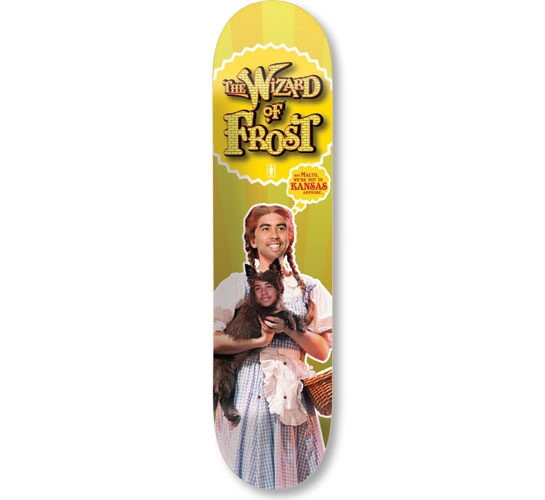 "Girl Skateboard Deck - 8.125"" Froston (Wizard Of Frost)"