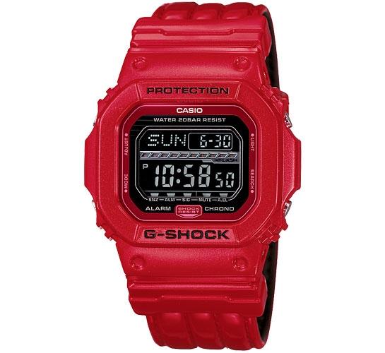 G-Shock GLS-5600L-4ER G-LIDE Snowboarder (Red)