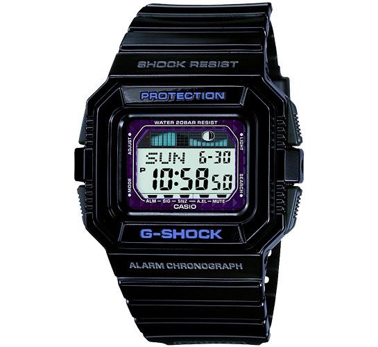 G-Shock GLX-5500-1ER G-LIDE Surf (Black)
