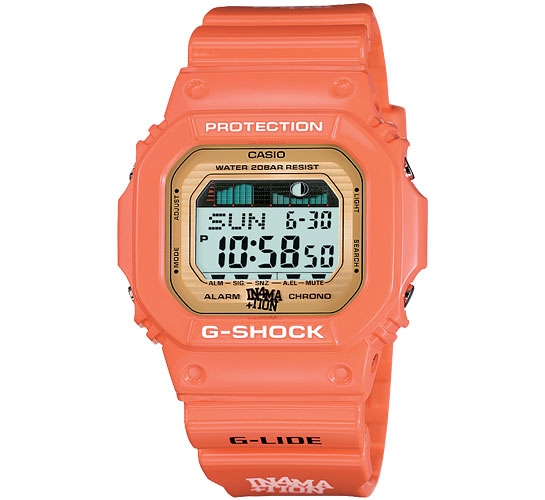 G-Shock x In4mation GLX-5600XA-4CR G-LIDE Surf (Salmon Pink)
