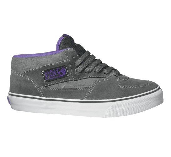 Vans Skate Shoes - Half Cab (Charcoal/Royal Lilac)