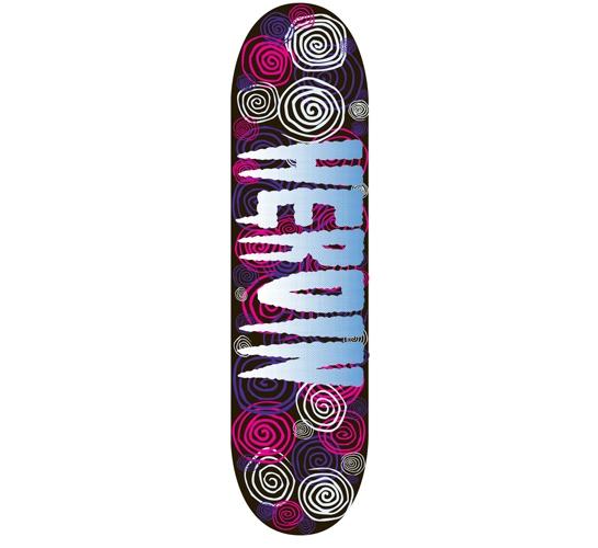 """Heroin Skateboards Deck - 8.375 Team (Big Spirals)"""""""