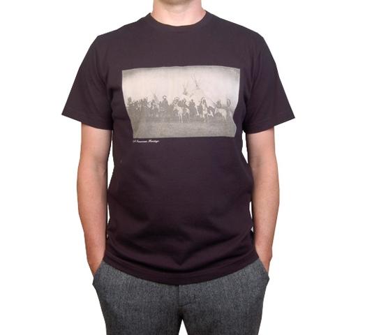 Penfield Men's T-Shirt - History (Black)
