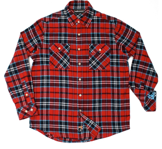 The Hundreds Men's Shirt - Addy (Red)