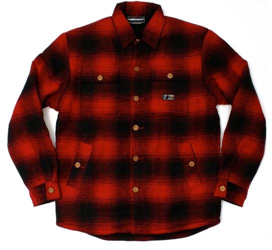 The Hundreds Men's Jacket - Bunyan (Red)