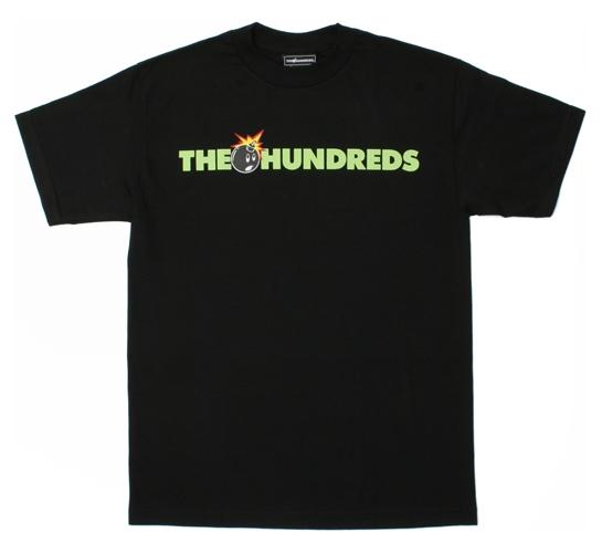 The Hundreds Men's T-Shirt - Adam Logo (Black)