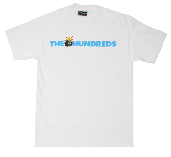 The Hundreds Men's T-Shirt - Adam Logo (White)