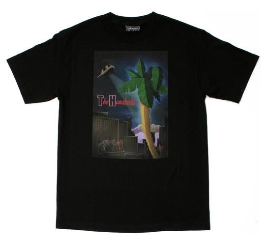 The Hundreds Men's T-Shirt - Palmy (Black)