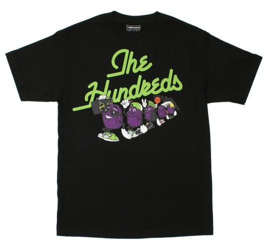The Hundreds Men's T-Shirt - Raisins (Black)