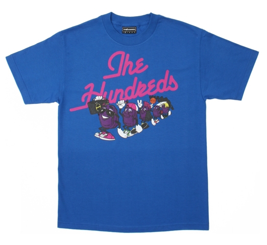 The Hundreds Men's T-Shirt - Raisins (Blue)