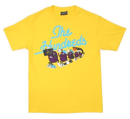 The Hundreds Men's T-Shirt - Raisins (Yellow)