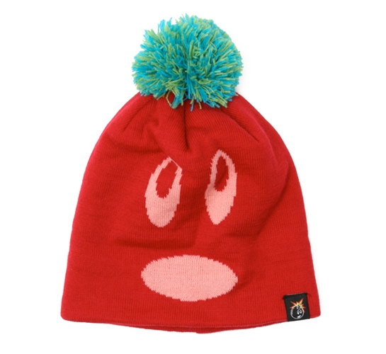 The Hundreds Beanie - Adam (Red)
