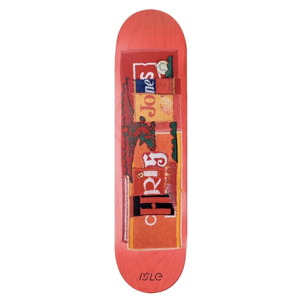 "Isle Skateboards Chris Jones Pub Series Skateboard Deck 8.375"""