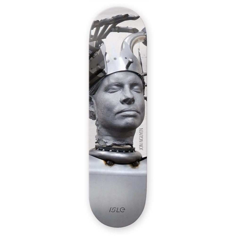 "Isle Skateboards Jon Nguyen Kira Freije Artist Series Skateboard Deck 8.125"""