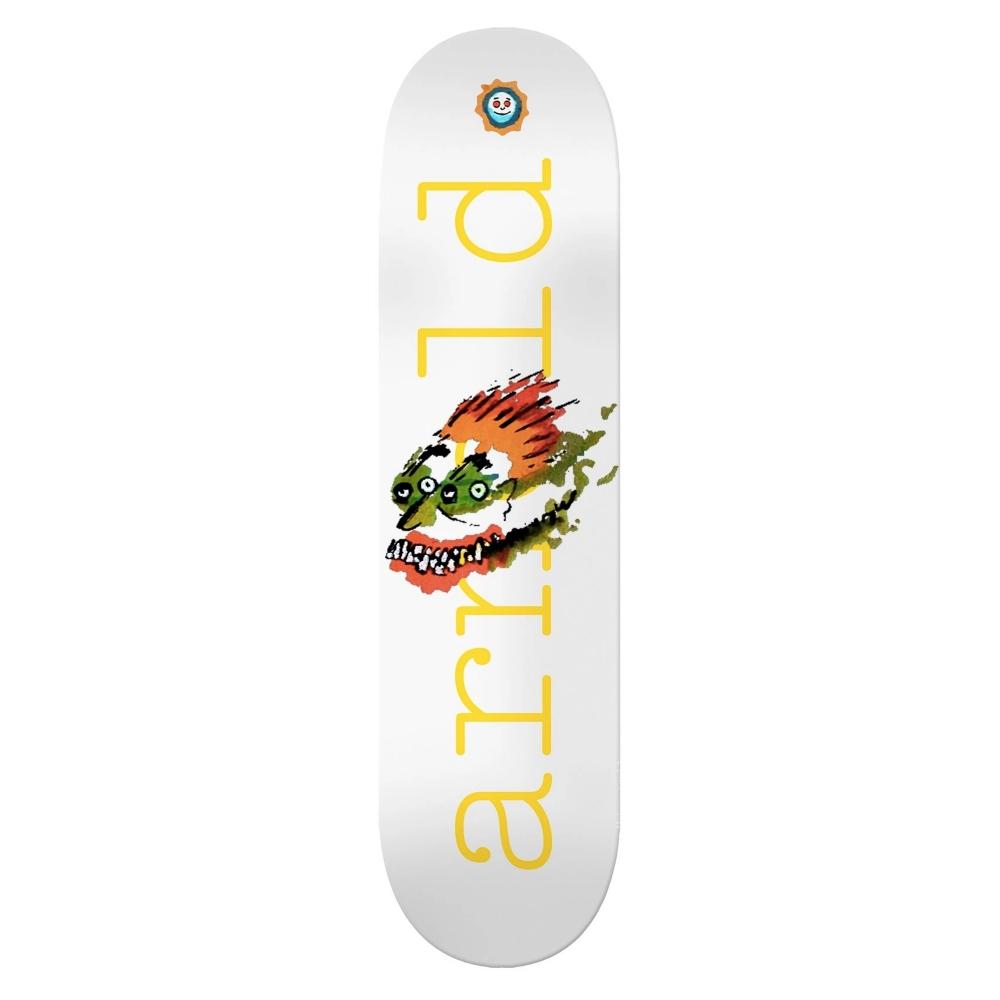 "Isle Skateboards Mike Arnold Face Drawing Skateboard Deck 8.25"""