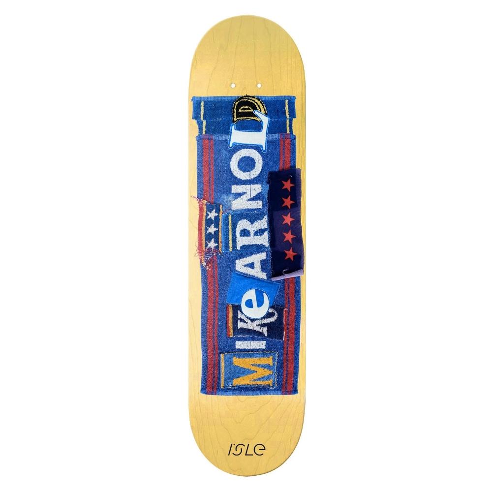 "Isle Skateboards Mike Arnold Pub Series Skateboard Deck 8.5"""