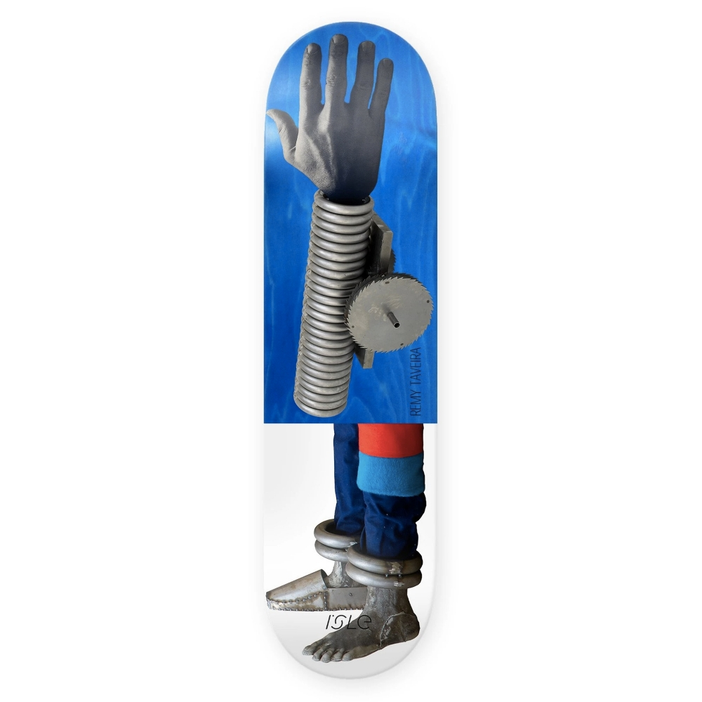 "Isle Skateboards Remy Taeriera Kira Freije Artist Series Skateboard Deck 8.375"""