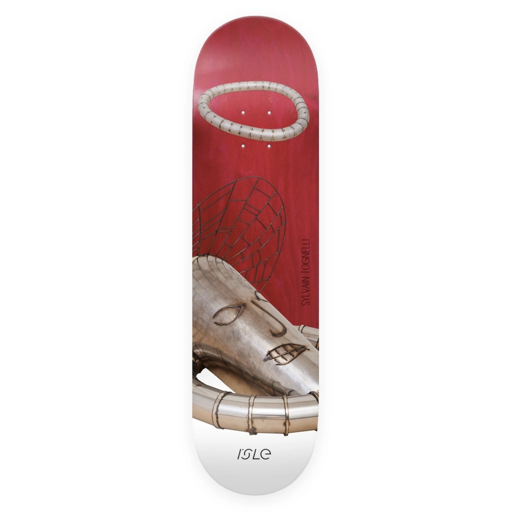 "Isle Skateboards Sylvain Tognelli Kira Freije Artist Series Skateboard Deck 8.0"""