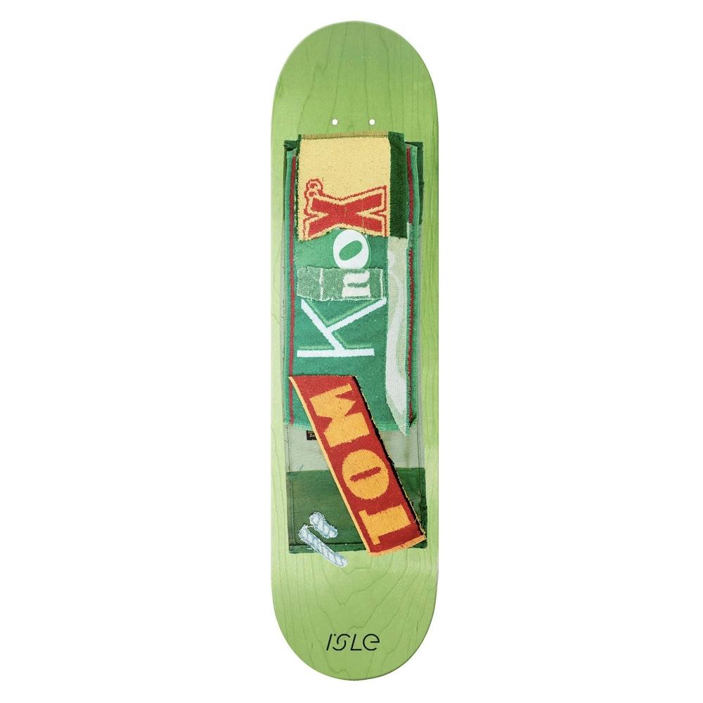 "Isle Skateboards Tom Knox Pub Series Skateboard Deck 8.375"""