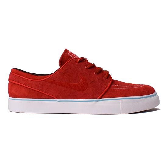 Nike SB Stefan Janoski (Sport Red/Sport Red/Blue Chill)