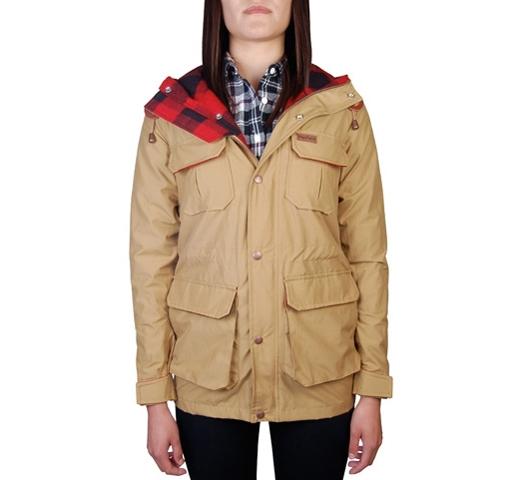 Penfield Women's Jacket - Kasson (Tan)