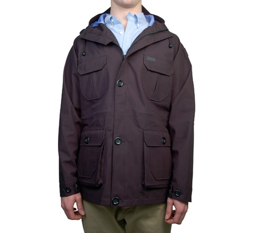 Penfield Men's Jacket - Kasson 3 Layer (Black)