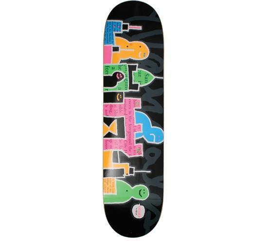 "Krooked Skateboard Deck - 7.81"" Gonz (Schmoozers)"