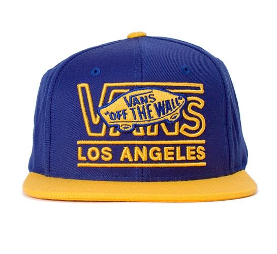 Vans LA Starter Cap (Royal/Yellow)