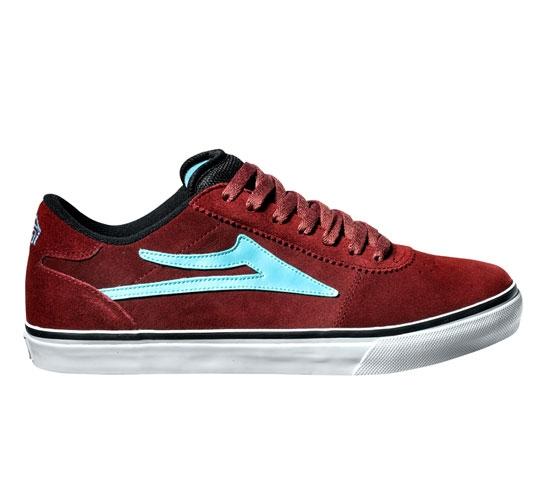 Lakai Skate Shoes - Manchester Select (Burgundy)