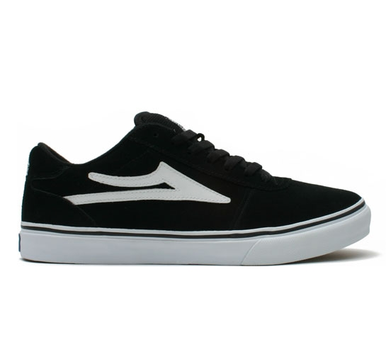 Lakai Skate Shoes - Manchester (Black Suede)