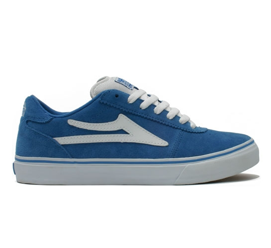 Lakai Skate Shoes - Manchester (Blue Suede)