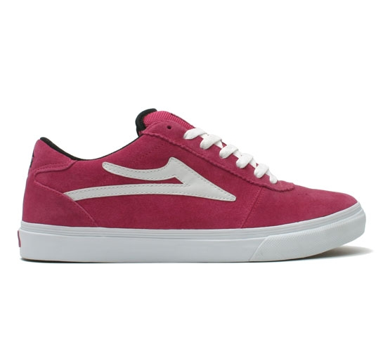 Lakai Skate Shoes - Manchester (Pink Suede)