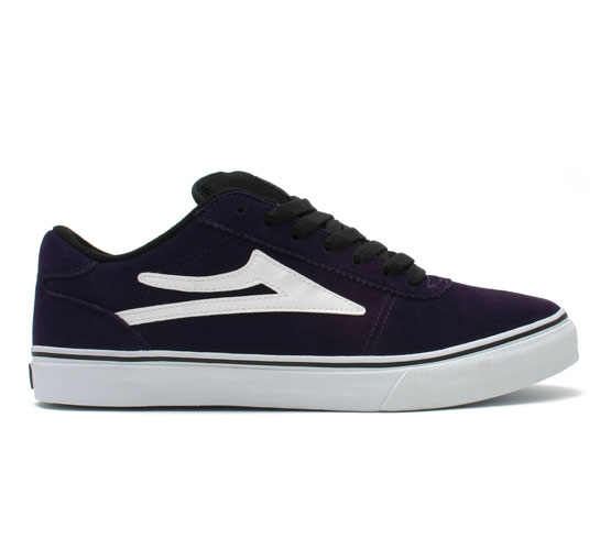 Lakai Skate Shoes - Manchester (Purple Suede)