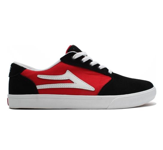 Lakai Skate Shoes - Pico (Black/Red)