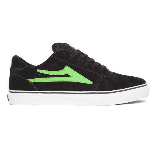 Lakai Manchester Select (Black/Lime Suede)