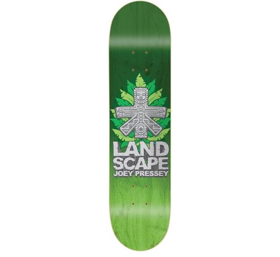 """Landscape Skateboard Deck - 7.625"""" Joey (False Idols)"""