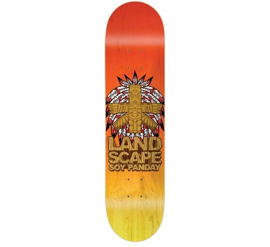 "Landscape Skateboard Deck - 8"" Soy (False Idols)"