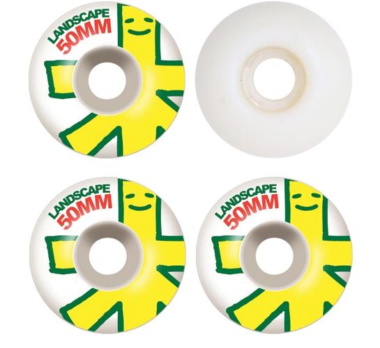 Landscape Skateboard Wheels - 50mm Big Logo