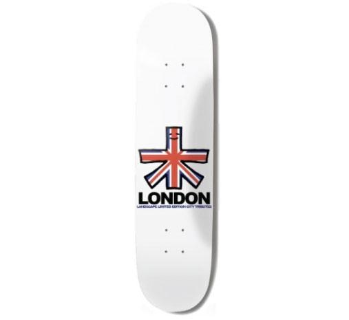 "Landscape Skateboard Deck - 7.625"" Team (London)"