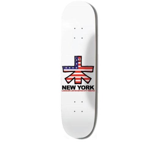 "Landscape Skateboard Deck - 8"" Team (New York)"