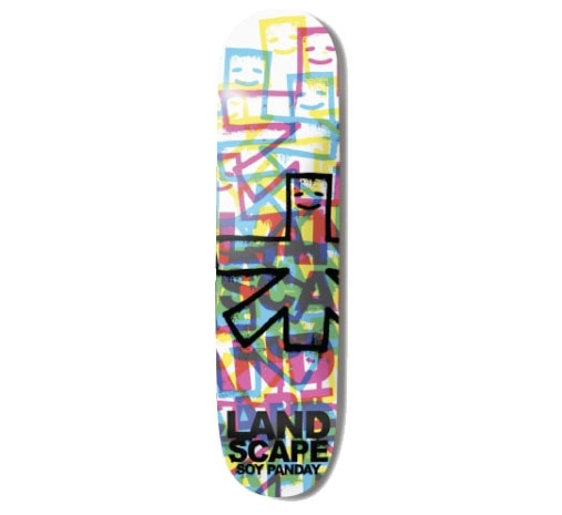 "Landscape Skateboard Deck - 7.875"" Soy (CMYK 2'S)"