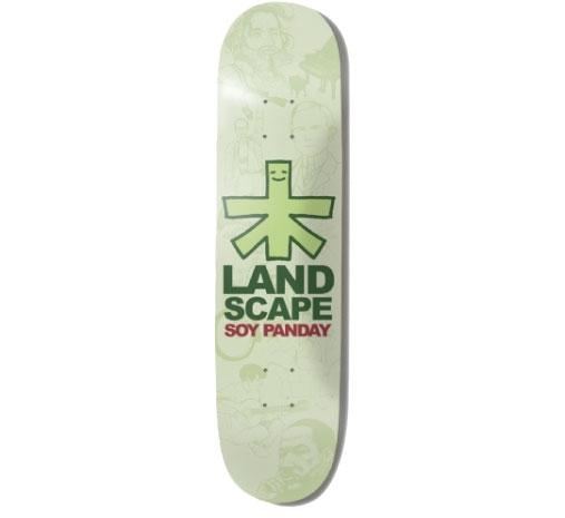 """Landscape Skateboard Deck - 7.75"""" Soy (Sketches)"""