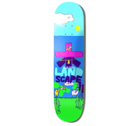 """Landscape Skateboard Deck - 7.8"""" Team (Stefan Marx)"""