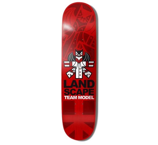 """Landscape Skateboard Deck - 8.1"""" Team (Don Pendleton)"""