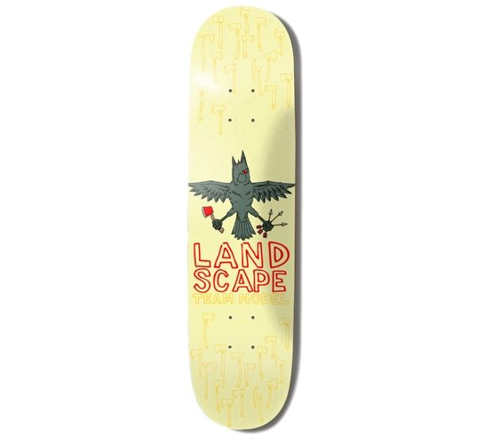 """Landscape Skateboard Deck - 8"""" Team (Andrew Pommier)"""
