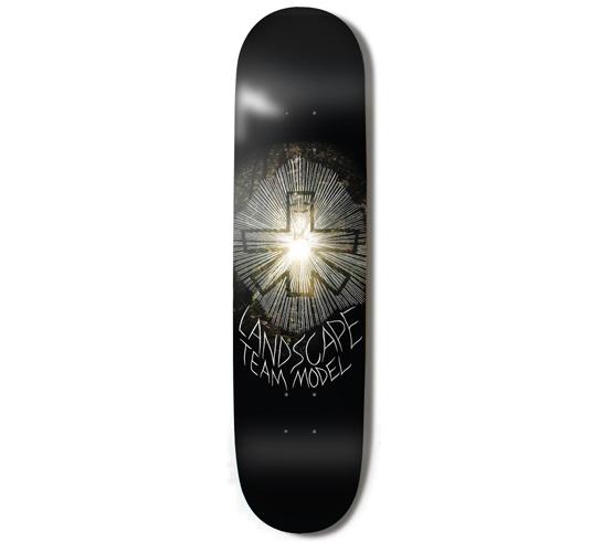 "Landscape Skateboard Deck - 7.75"" Team (Toby Shuall)"