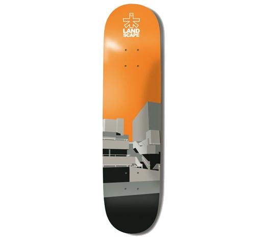 """Landscape Skateboard Deck - 8.1"""" Team (Southbank)"""